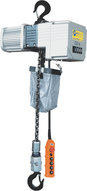 palan electric trifazic cu lanț