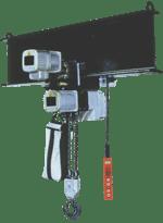aplicatie palan electric cu lanț