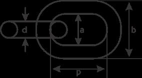 desen tehnic za lanț calibrat palan electric