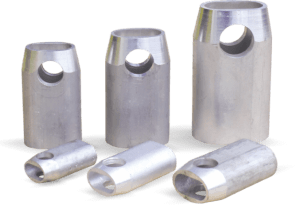 bucșe aluminiu conice