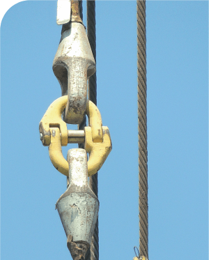 folosire socket cablu fixat prin rasina